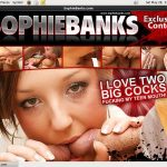 Account Free For Sophie Banks