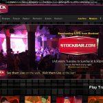 Login For Stock Bar