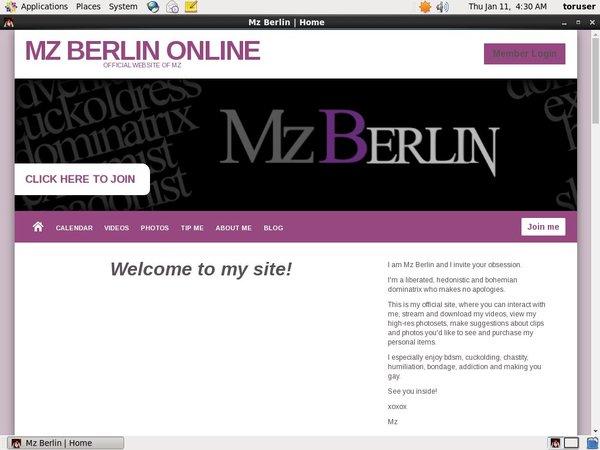 Mz Berlin Online Free Password