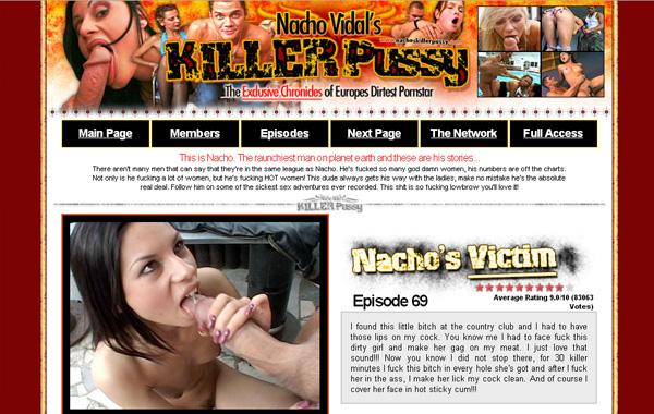 Nachos Killer Pussy Free Accounts