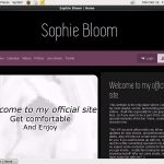 Sophie Bloom Paypal Access