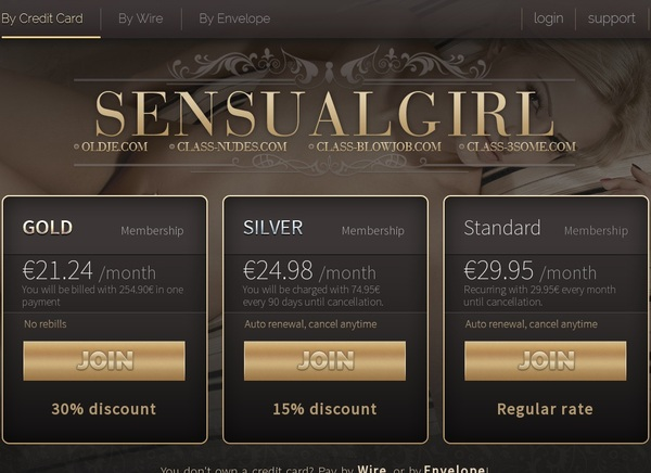 Sensual Girl Password Account