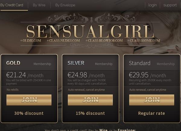 Sensualgirl.com Bezahlen
