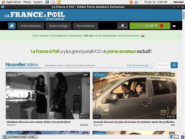 La France A Poil Checkout Form
