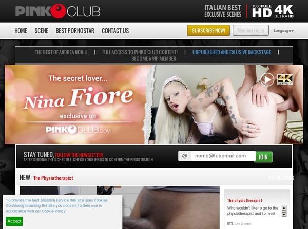 PinkO Club Account Logins
