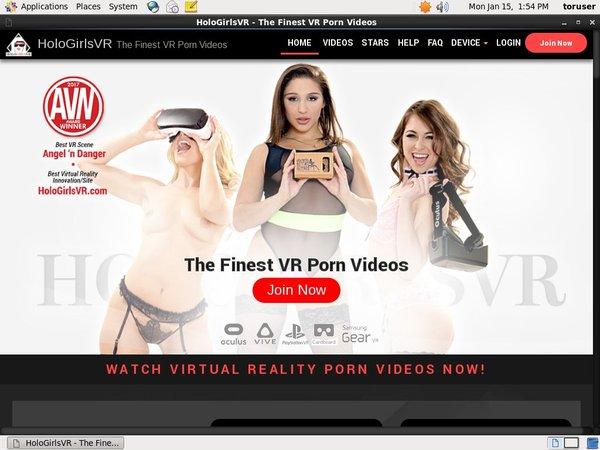 Holo Girls VR Fxbilling