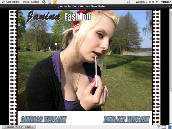 How To Get Free Janina Fashion