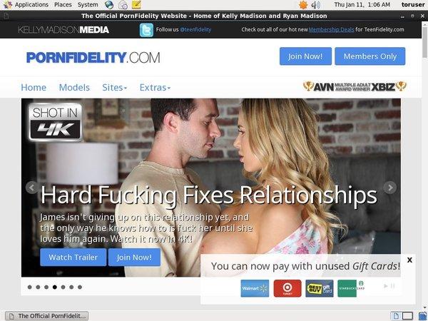 Porn Fidelity Id Password