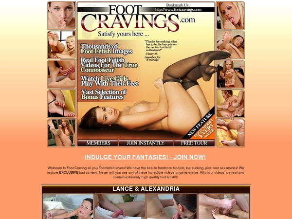 Foot Cravings Join By Text Message