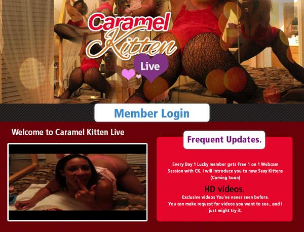 Caramelkittenlive.com Account Password